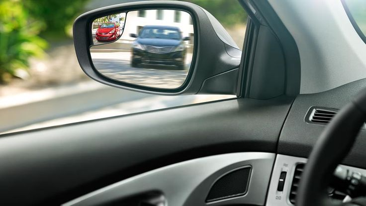 2015 elantra drivers blind spot mirror visit httpwww