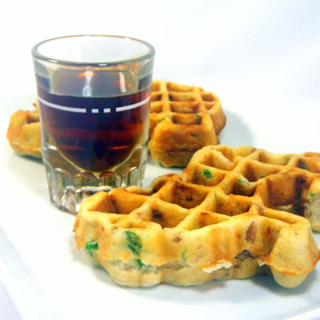 Inspired By eRecipeCards: Rotisserie Chicken and Waffles Recipe for 2 People