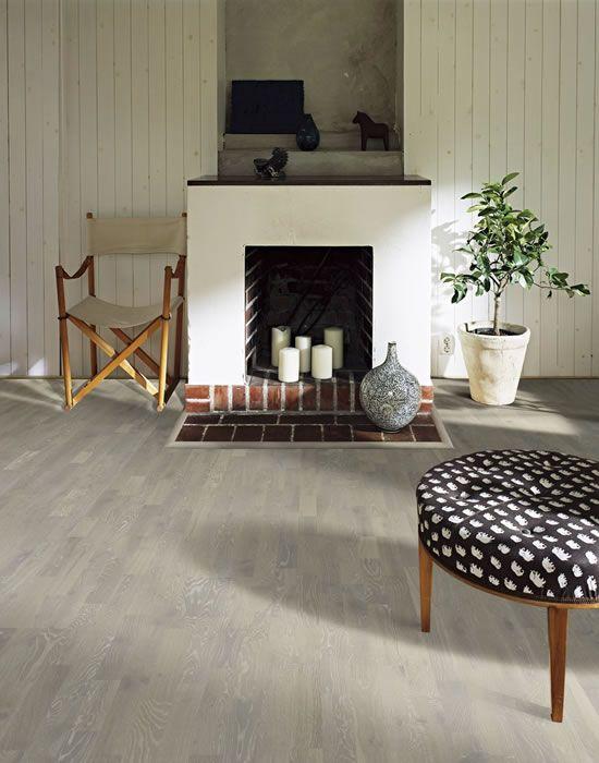Kahrs Oak Limestone Engineered Wood Flooring