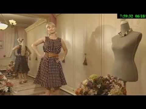 Как сшить летнее платье в горошек Ольга Никишичева — Яндекс.Видео