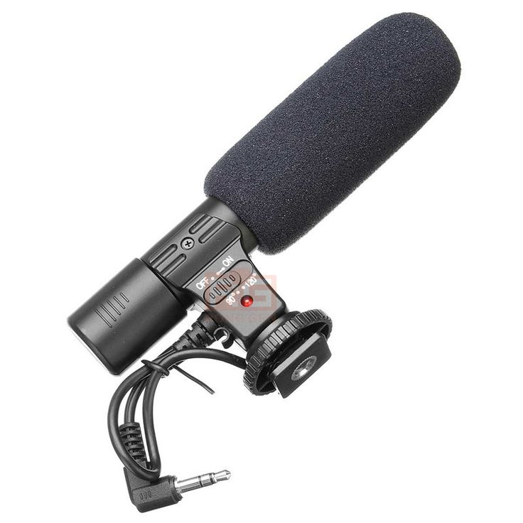 3.5mm Studio Recording Microphone for Canon/Nikon SLR Camera //Price: $35.99 & FREE Shipping //     #gadgets