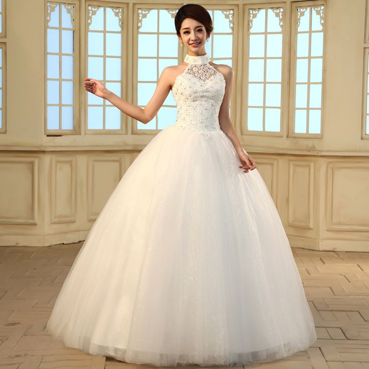 Aliexpress.com : Buy 2013 New Arrival Wedding dress Sweet Princess Halter neck with Diamond from Reliable wedding dresses with diamonds suppliers on HONEYSTORE CO., LIMITED. $426.99
