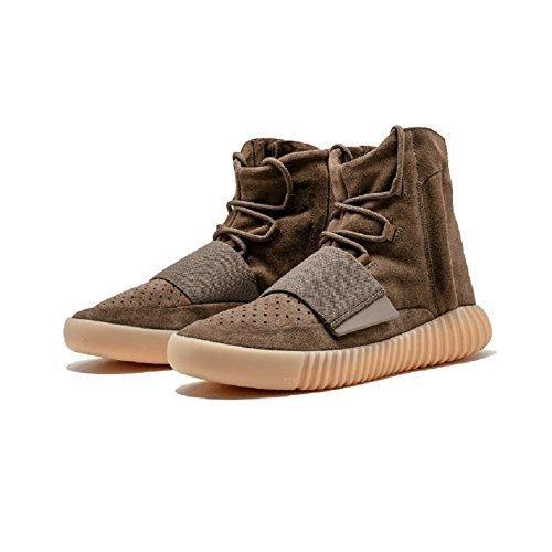 Oferta: 70€. Comprar Ofertas de Yeezy Boost 750luz Brown Colorway con acentos de color blanco zapatos de tacón, hombre, 41EU barato. ¡Mira las ofertas!