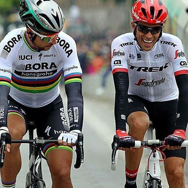Alberto Contador, Peter Sagan TDF2017