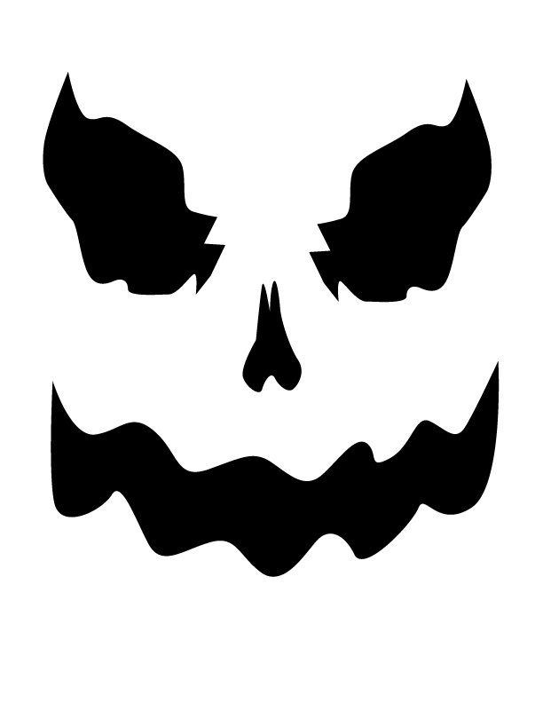 Free Pumpkin Carving Templates Find a pumpkin carving idea you like in this gallery of funny and frightening faces, then click the link below the picture to download the printable template.