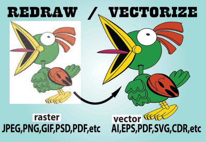 convert to vector png,jpg,gif,psd to Ai,Eps,Svg by tanhossviren