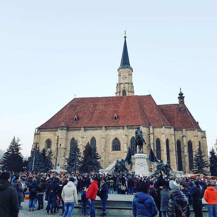 #Democracy is coming. On PSD. #Cluj #Transilvania #Transylvania #Romania