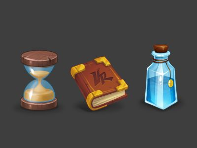 Icons for the game by Anna Denisova