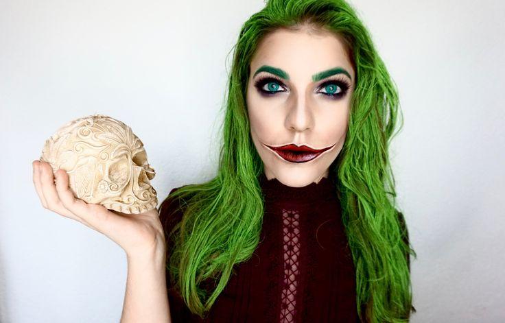 Female Joker makeup Tutorial