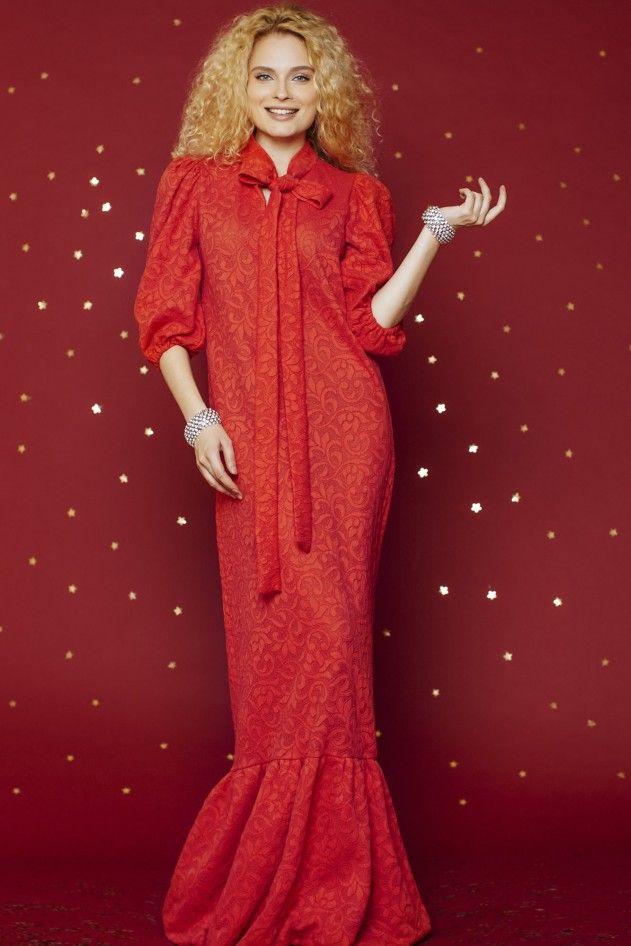 Платье «Вероника» (малиновое) — 34 990 рублей