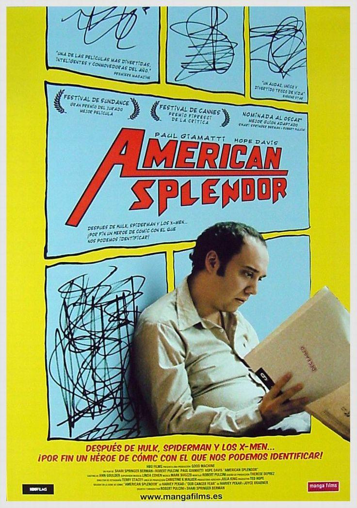 american splendor, paul giamatti, movie poster