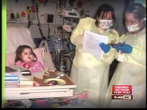 Bone marrow match saved a Sarasota girl's life with Hemophagocytic Lymphohistiocytosis (HLH)