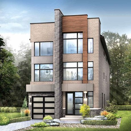 Modern 3-storey townhouse at Glen Agar, 19 Glen Agar Dr, Etobicoke , Toronto, ON, a new development project by Minto. Check out the property photos, floor plans and amenities. | REW.ca