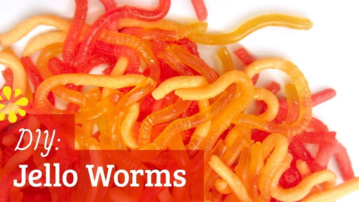 How to Make Jello Worms : Halloween  This is a great tutorial, easy to understand with extra tips.