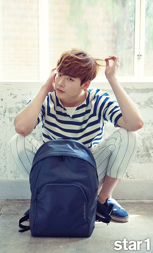 Lee Jong Suk - @Star1 Magazine July Issue '15 #celebrities