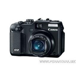 Kamera Digital Canon PS G12 - 10 Million Effective Pixels, ISO 3200