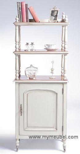 Antique Winerack Cabinet