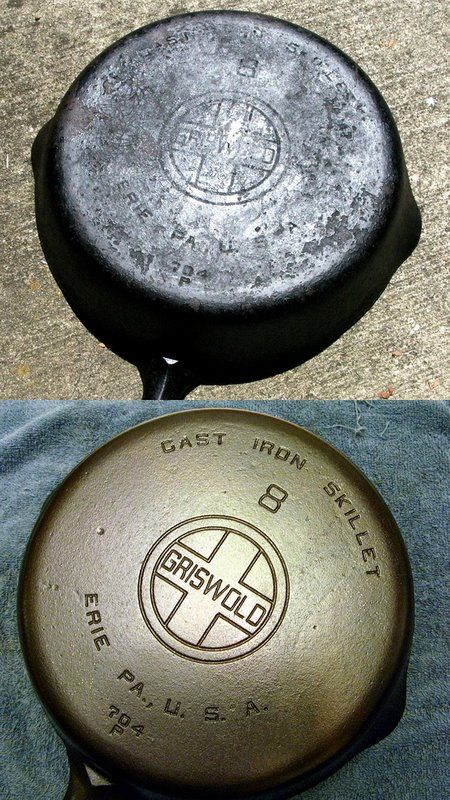 Cleaning and Re-Seasoning Cast Iron Pans