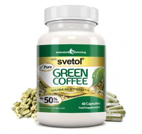 Pure Svetol Green Coffee Bean 50% CGA (60 Capsules)