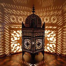 Orientalische Eisen LATERNE Marokkanische Eisenlaterne Orient Lampe H120cm