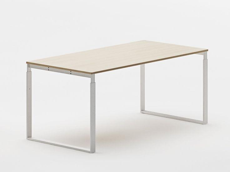 Frame bord 160x80 cm, finer - høyde 70,5 - 85 cm