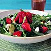 Strawberry+and+Avocado+Salad+with+Strawberry+Balsamic+Dressing