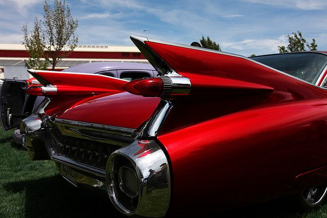 59 Cadillac Fins Classic I Very Much Would Like One Of