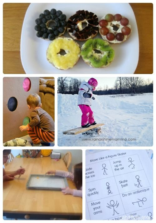 Creative ways to try out the Olympics at home!  Kids (and parents) will love these activities & challenges.