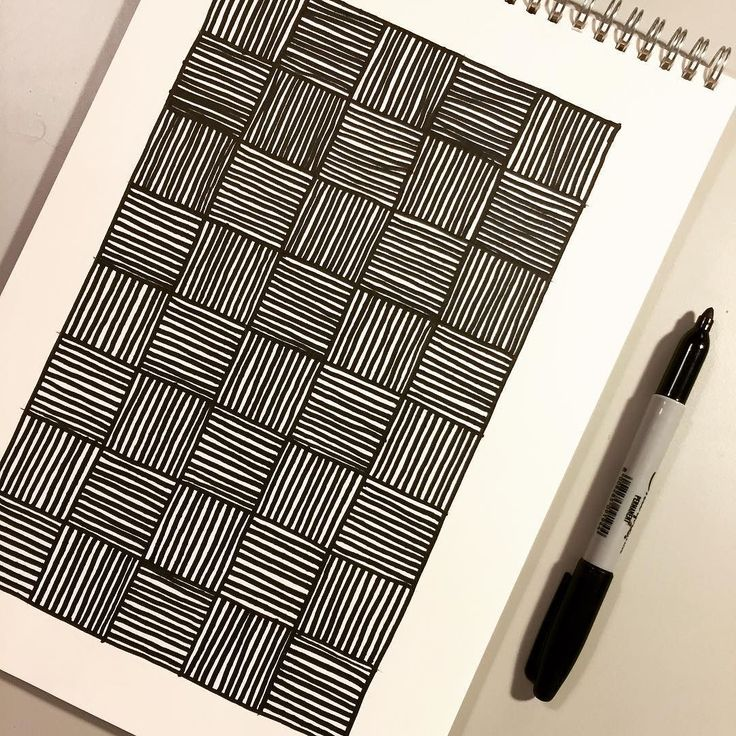Perfectly imperfect #inktober day 16. I always love drawing something very linear and geometric that could be done so perfectly on a computer but when done by hand has imperfections in it. #beinghuman #wip #workinprogress #inktober2016 #drawing #sharpie #lines #grids #hatching #tile #albaquirky