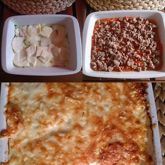 Paleo cukkini lasagne (gluténmentes recept)