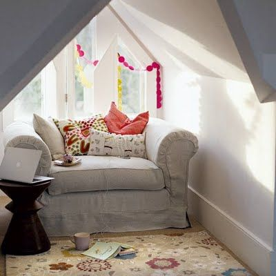 cosy corner: Comfy Chair, Cozy Nooks, Cozy Corner, Attic Spaces, Reading Corner, Reading Nooks, Books Nooks, Window Seats, Reading Spots