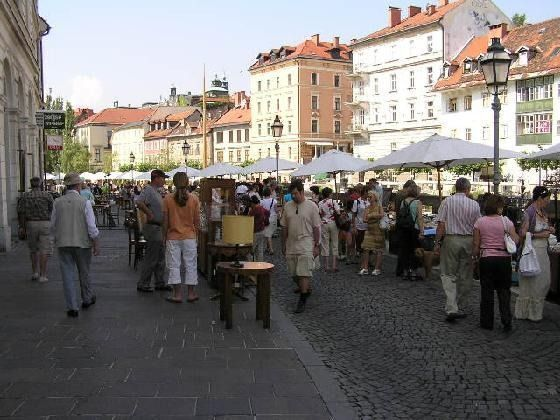 Ljubljana Sunday Flea Market and other Shopping Reviews