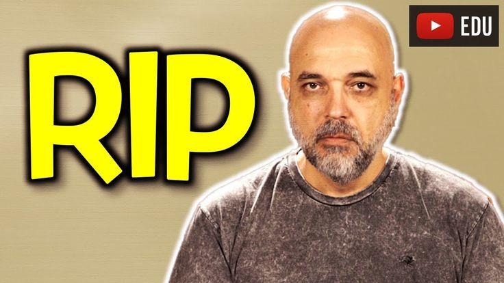 Vocabulário sobre morte em inglês: RIP, dead, death, died, luto, pêsames...