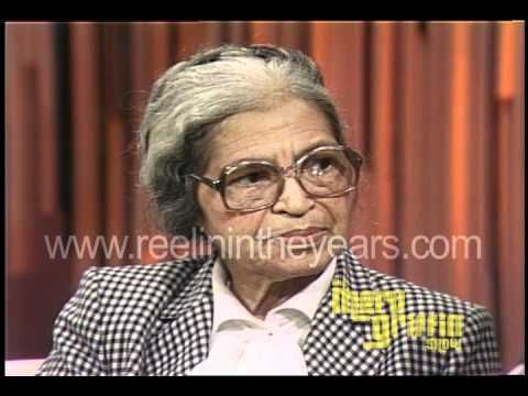 Rosa Parks Interview (Merv Griffin Show 1983) - YouTube