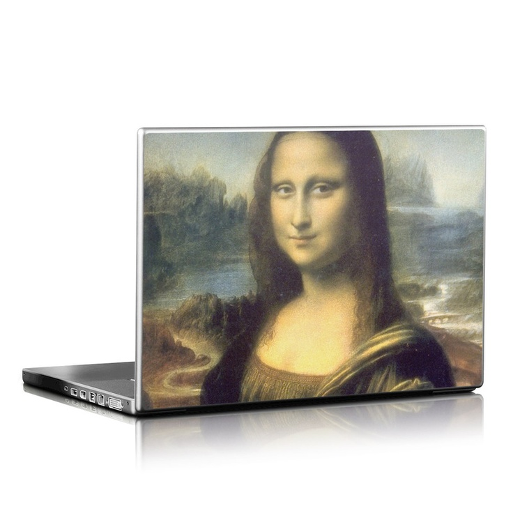 Mona Lisa Laptop Skin $19.99