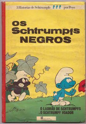 BD Portugal: Os Schtrumpfs Negros