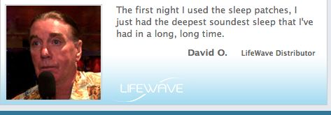 On LifeWave's drug-free Silent Night patches.   http://www.lifewave.com/silentnights.asp