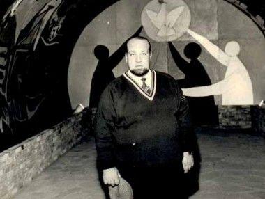 Mio papà Tom Ponzi - grande appassionato d'arte nonché collezionista e mecenate