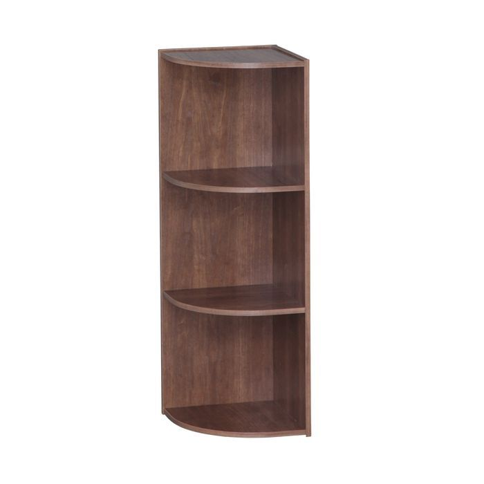 Iris 3 Tier Corner Storage Shelf In 2020 Corner Storage Shelves Wood Storage Shelves Corner Shelf Unit