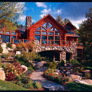 88 best Our LOG HOMES images on Pinterest Log homes Cedar homes