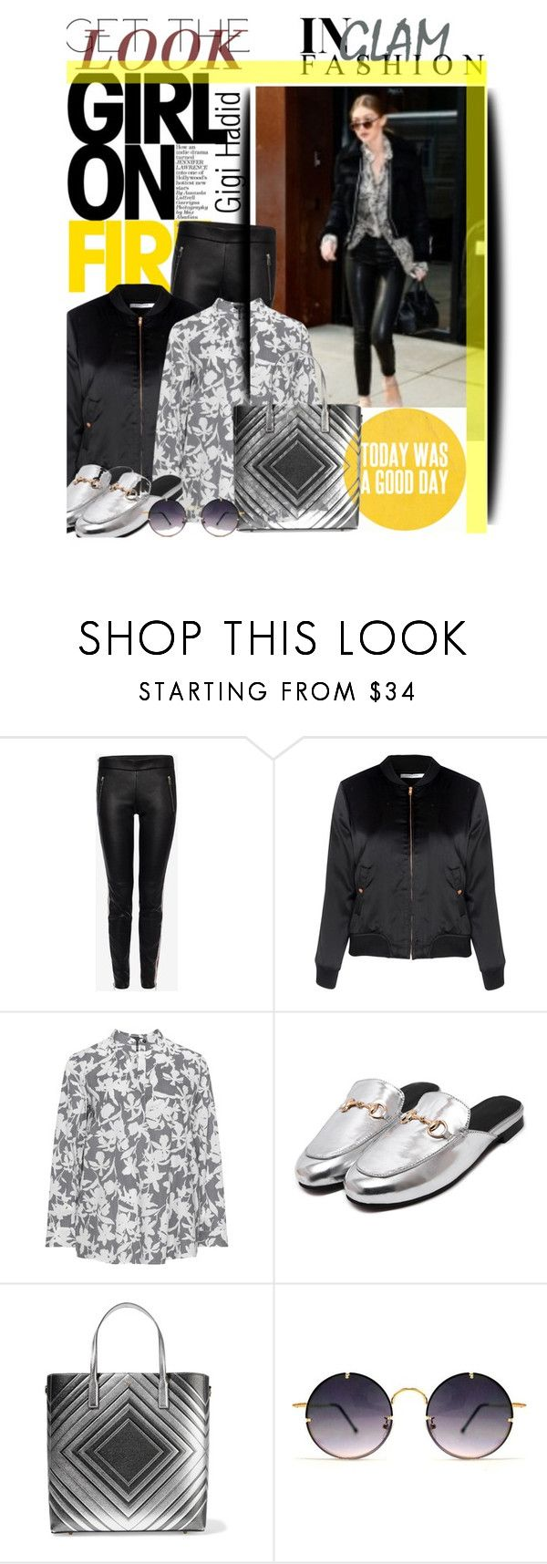 """Gigi Hadid Get the Look - Winter style"" by no-where-girl ❤ liked on Polyvore featuring Alexander McQueen, Glamorous, Persona, Anya Hindmarch, Spitfire and GetTheLook"