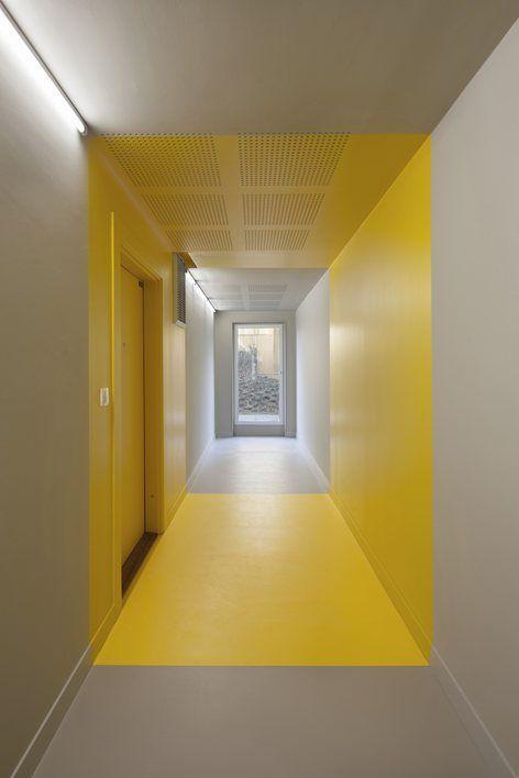 Home, Parigi, 2015 - Hamonic + Masson, Comte & Vollenweider Architectes #yellow: