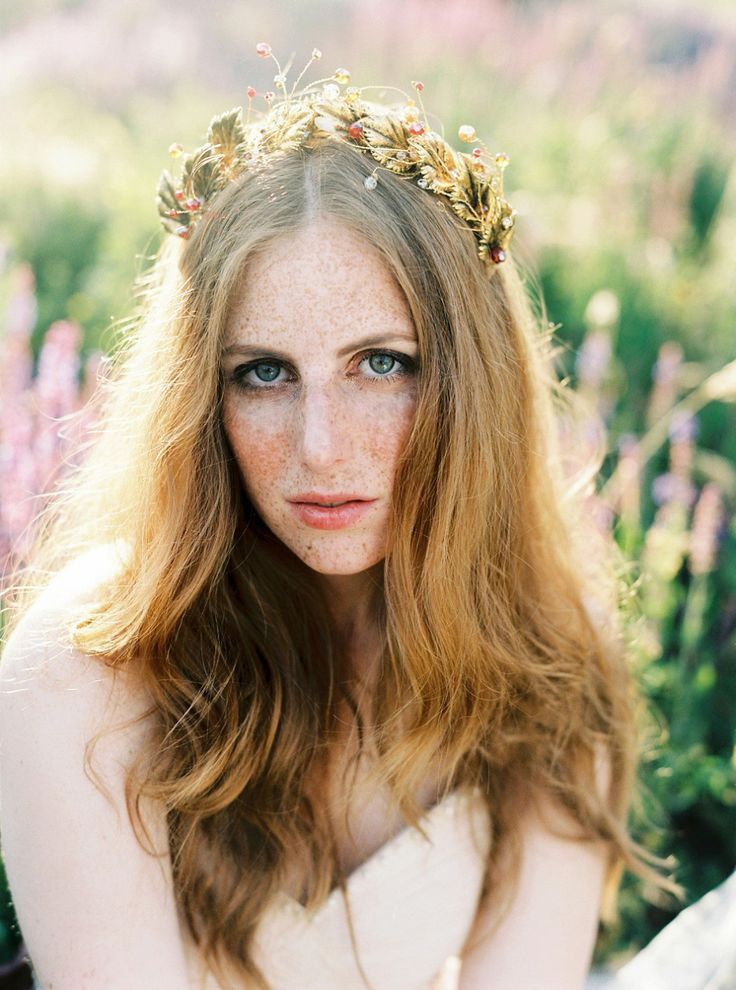 Ethereal Gold Headpieces For Brides by Beretkah | Love My Dress® UK Wedding Blog