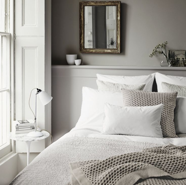 the white company grey bedroom