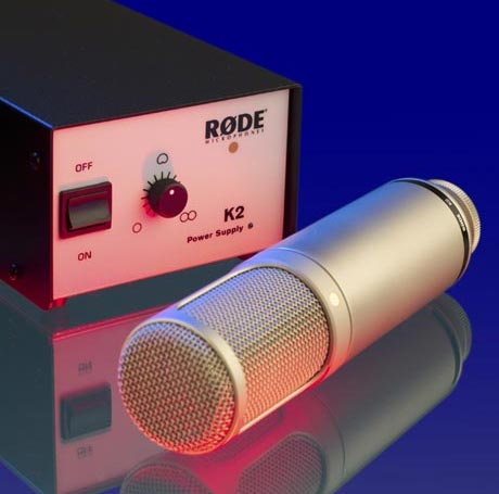"""The RØDE K2's HF-1 capsule is the pinnacle of transducer technology. The sound quality combines modern high-end specifications with the character & subtleties of the legendary 50's mics. Infinitely variable control of the K2's polar patterns provides the freedom and flexibility to excel in any recording situation. The K2 is another example of RØDE's commitment to building quality studio microphones to meet the exacting standards demanded by today's professionals. """"Best Studio Microphone of…"""