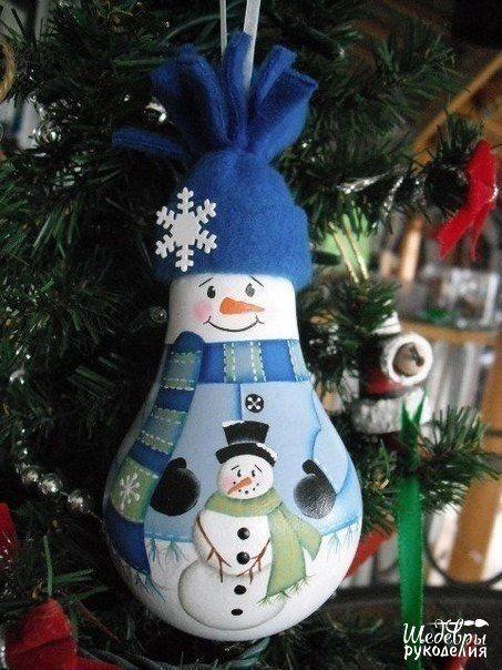 NapadyNavody.sk | Kreatívne nápady na vianočné gule zo starých žiaroviek