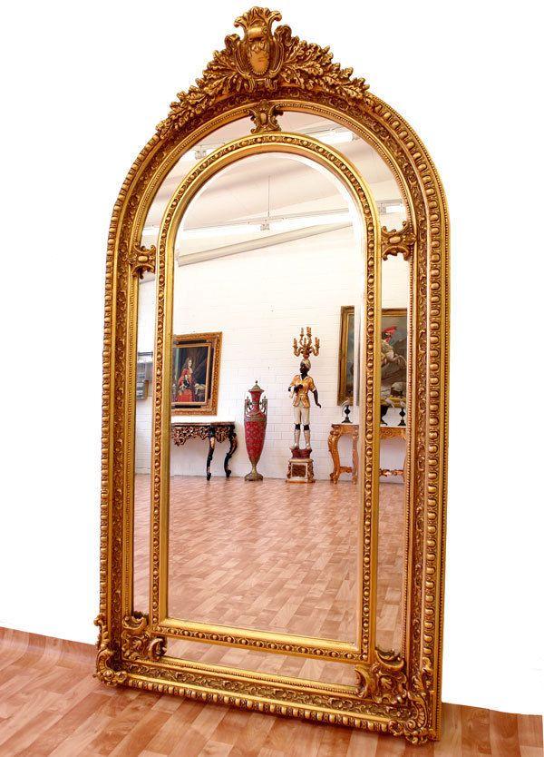 Les 25 meilleures id es de la cat gorie miroir baroque sur for Grand miroir original