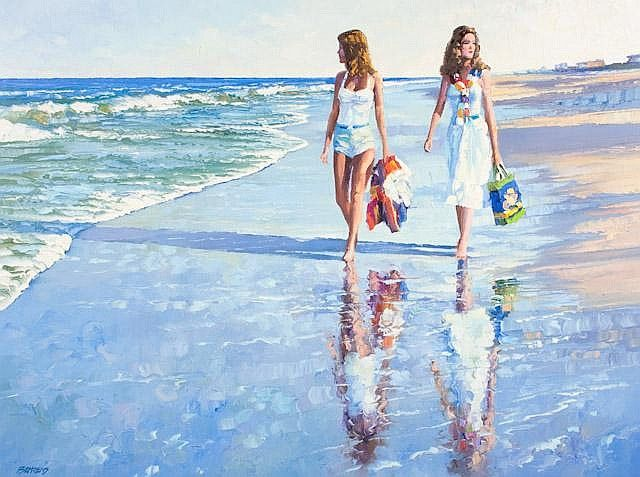 Howard Behrens - Girls on Beach