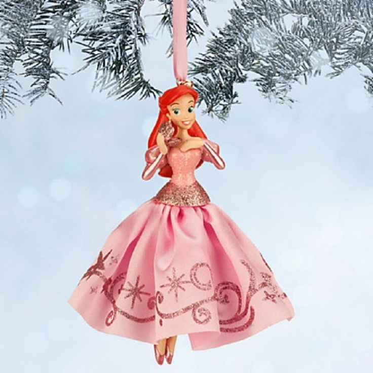 1000 images about christmas 2016 on pinterest disney for Ariel christmas decoration
