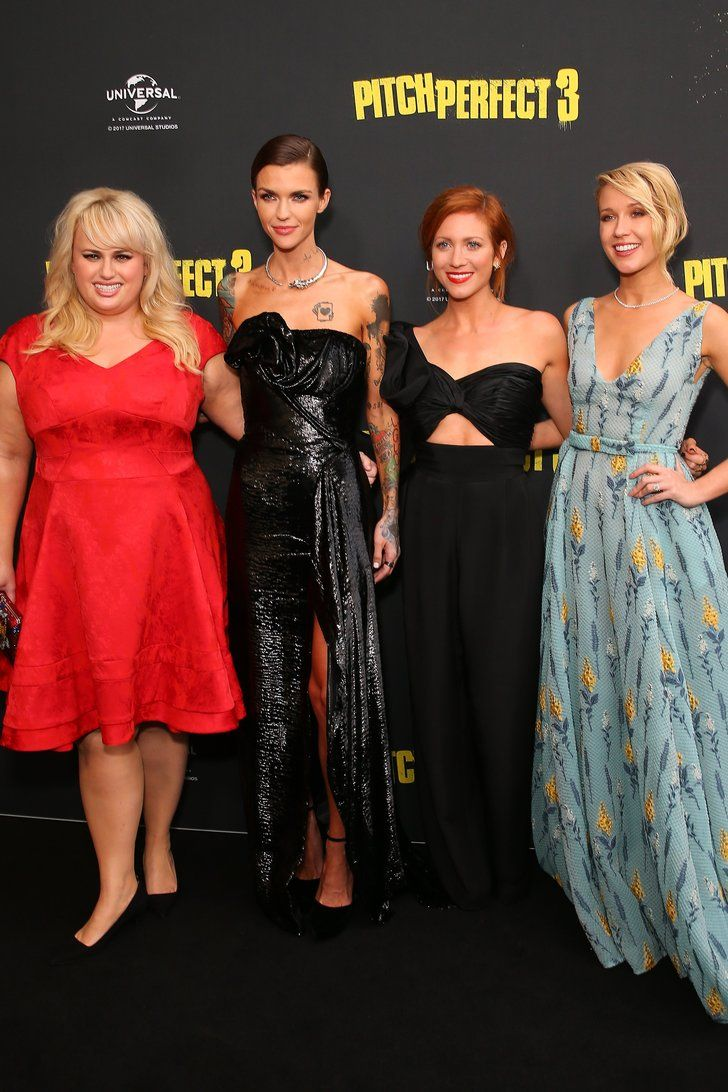 The Pitch Perfect 3 Cast Pops Up at Their Premiere Looking, Well, Perfect